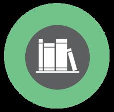 books icon green