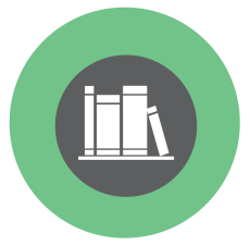 books icon green